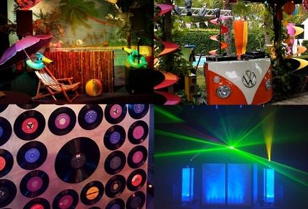 Live muziek & DJ: keuze uit verschillende DJ Booths