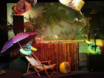 Tropical Times Decoratie